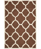 Safavieh Cambridge Cam140h Dark Brown / Ivory Area Rug