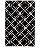Safavieh Cambridge Cam142e Black - Ivory Area Rug