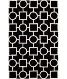 Safavieh Cambridge Cam143e Black - Ivory Area Rug