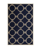 Safavieh Cambridge CAM145G Navy Blue / Ivory Area Rug
