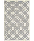 Safavieh Cambridge Cam311d Dark Grey / Ivory Area Rug