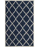 Safavieh Cambridge Cam312m Navy / Ivory Area Rug