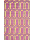 Safavieh Cambridge Cam351f Fuchsia / Grey Area Rug