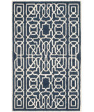 Safavieh Cambridge Cam570m Navy - Ivory Area Rug