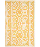 Safavieh Cambridge Cam570q Gold - Ivory Area Rug