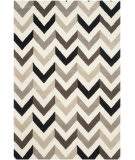 Safavieh Cambridge Cam580c Ivory / Black Area Rug