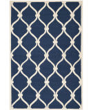 Safavieh Cambridge Cam710m Navy / Ivory Area Rug