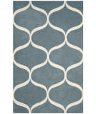 Safavieh Cambridge Cam730b Light Blue - Ivory Area Rug