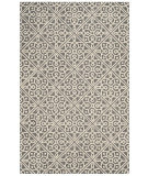 Safavieh Cambridge Cam731d Dark Grey - Ivory Area Rug