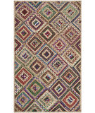 Safavieh Cape Cod CAP354B Natural / Red Area Rug