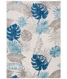 Safavieh Cabana Cbn831f Grey - Blue Area Rug