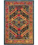 Safavieh Cherokee Chr921k Turquoise - Light Orange Area Rug