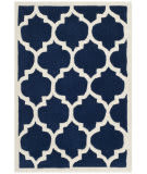 Safavieh Chatham Cht734c Dark Blue / Ivory Area Rug