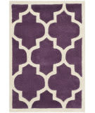 Safavieh Chatham Cht734f Purple / Ivory Area Rug