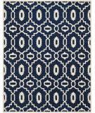 Safavieh Chatham Cht745c Dark Blue / Ivory Area Rug