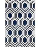 Safavieh Chatham Cht760c Dark Blue - Ivory Area Rug