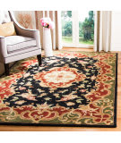 Safavieh Classic CL234D Black - Green Area Rug