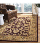 Safavieh Classic CL244B Dark Plum - Gold Area Rug