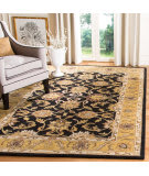 Safavieh Classic CL252A Black - Gold Area Rug
