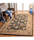 Safavieh Classic CL758B Black - Gold Area Rug