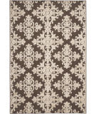 Safavieh Cottage Cot906d Brown - Creme Area Rug