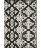 Safavieh Cottage Cot906e Black - Creme Area Rug