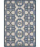 Safavieh Cottage Cot923b Ivory - Blue Area Rug
