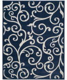 Safavieh Cottage Cot927b Navy - Creme Area Rug