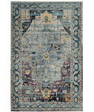 Safavieh Crystal Crs503d Teal - Purple Area Rug