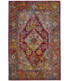 Safavieh Crystal Crs507b Light Blue - Fuchsia Area Rug