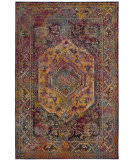 Safavieh Crystal Crs514t Teal - Rose Area Rug