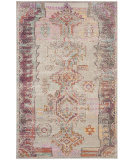 Safavieh Crystal Crs517p Light Grey - Purple Area Rug