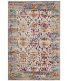 Safavieh Crystal Crs518g Cream - Teal Area Rug