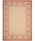 Safavieh Courtyard CY0901-3201 Natural / Terracotta Area Rug
