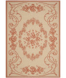 Safavieh Courtyard CY1893-3201 Natural / Terracotta Area Rug