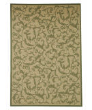 Safavieh Courtyard Cy2653-1e01 Natural / Olive Area Rug
