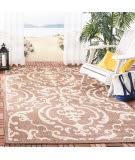 Safavieh Courtyard CY2663-3409 Chocolate / Natural Area Rug