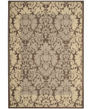 Safavieh Courtyard CY2727-3409 Chocolate / Natural Area Rug