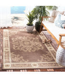 Safavieh Courtyard CY2914-3409 Chocolate / Natural Area Rug