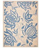 Safavieh Courtyard CY2961-3101 Natural / Blue Area Rug