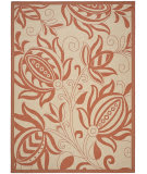 Safavieh Courtyard CY2961-3201 Natural / Terracotta Area Rug