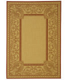 Safavieh Courtyard Cy2965-3701 Natural / Red Area Rug