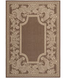 Safavieh Courtyard Cy3305 Chocolate - Natural Area Rug