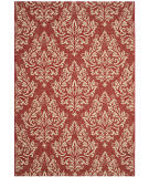 Safavieh Courtyard Cy6930 Red - Creme Area Rug