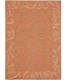Safavieh Courtyard Cy7108-21a7 Terracotta / Cream Area Rug
