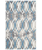 Safavieh Dip Dyed Ddy534j Grey - Ivory Blue Area Rug