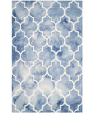 Safavieh Dip Dye Ddy535k Blue - Ivory Area Rug