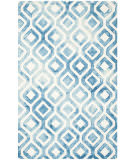 Safavieh Dip Dyed Ddy679a Ivory - Blue Area Rug