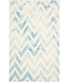 Safavieh Dip Dyed Ddy715h Ivory - Turquoise Area Rug