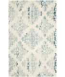 Safavieh Dip Dye Ddy720q Ivory - Light Blue Area Rug
